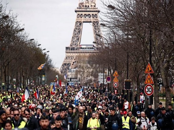 'Yellow-Vest protests in Paris, France (File Photo)