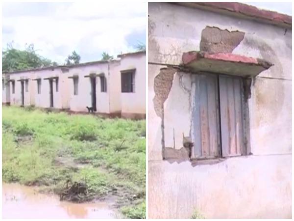 Houses built by K'taka govt in Gadag develop cracks, crumble