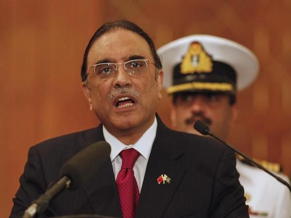 Former Pakistan President Asif Ali Zardari (File photo)