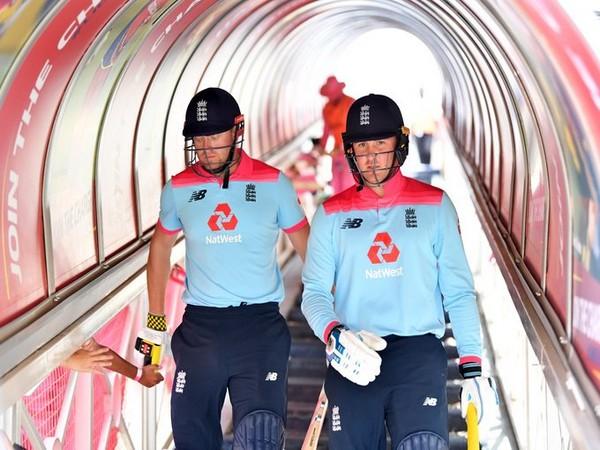 England opening batsmen Jason Roy and Jonny Bairstow (Photo/ ICC Twitter)