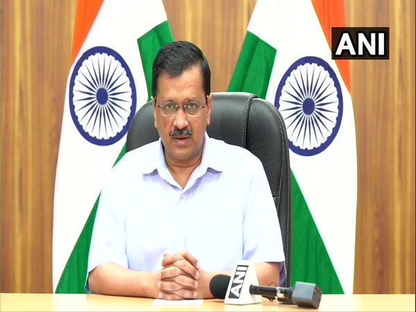 Delhi Chief Minister Arvind Kejriwal. [Photo/ANI]