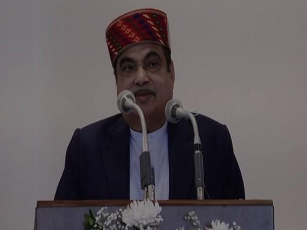Union Minister Nitin Gadkari at the event (Photo/ANI)