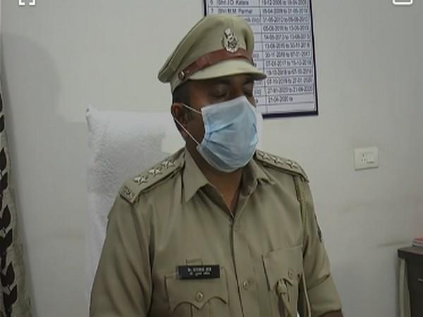Dr Kushal Ojha, Deputy Superintendent of Police, Deesa. (Photo/ANI)
