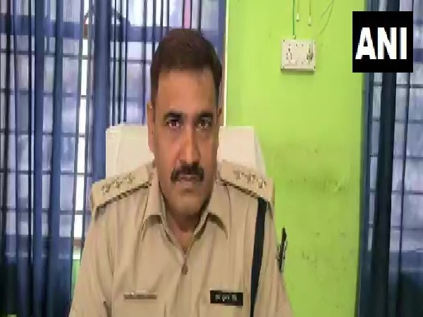 Sub-divisional Police officer of Forbesganj, RP Singh (Photo/ANI)