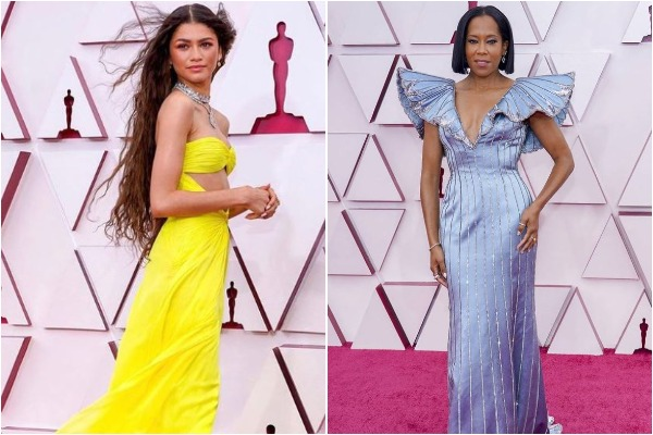 Zendaya and Regina King at Oscars 2021 (Image source: Instagram)