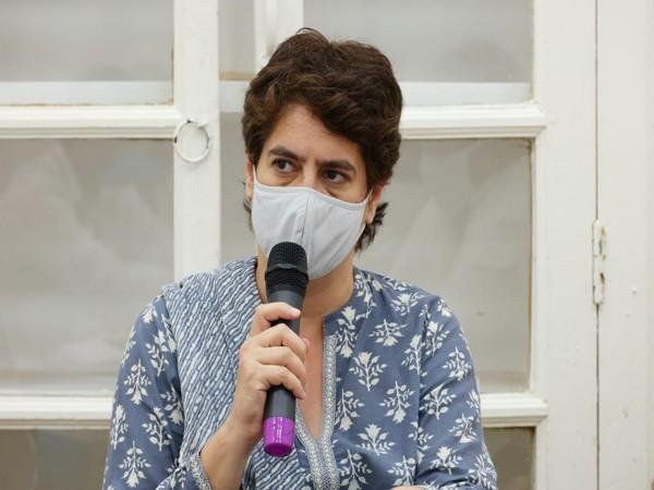Congress leader Priyanka Gandhi Vadra (Photo/ANI)