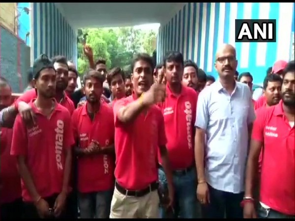 Zomato food delivery executives in Howrah are on an indefinite strike protesting against delivering beef and pork.