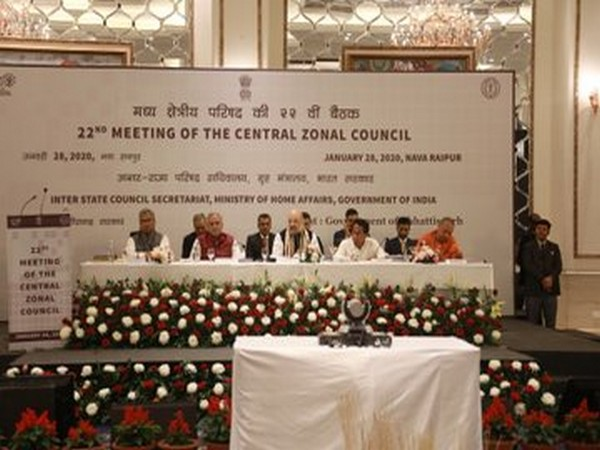 Visual from 22nd meeting of the Central Zonal Council at Nava Raipur.