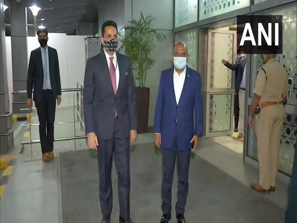 Maldivian FM Abdulla Shahid arrives in India