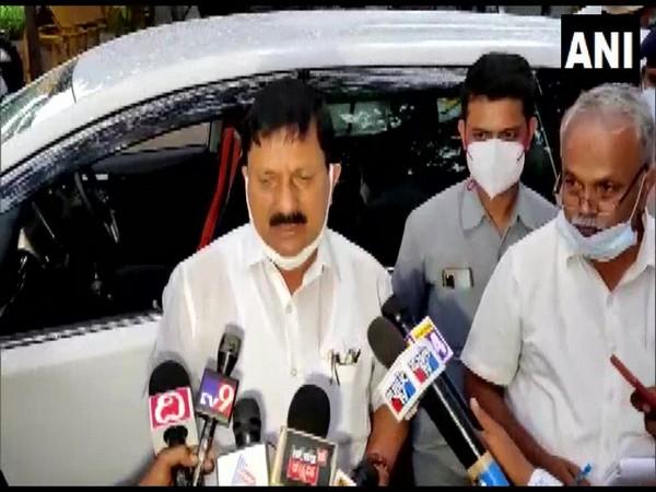 Karnataka Home Minister Araga Jnanendra (Photo/ANI)